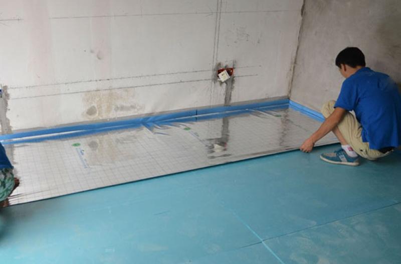 家庭地暖板工程案例