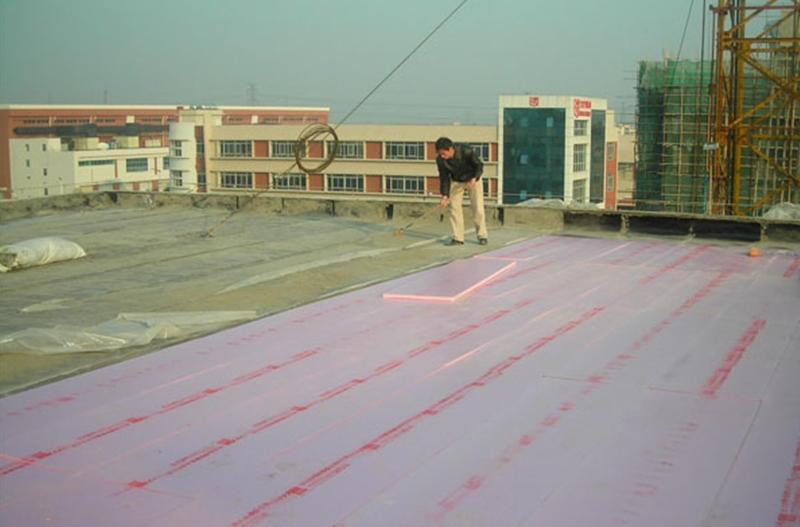 航易混凝土屋面A级防火挤塑板施工